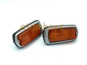 For Nissan DATSUN 510 120Y 240Z 260Z AMBER SIDE TURN SIGNAL MARKER LIGHT LAMP