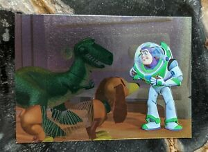 1995 SKYBOX - TOY STORY - Foil Chase Trading Card F5 - Buzz Lightyear