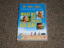 WHAT WE DID ON OUR HOLIDAY : 2015 FAMILY COMEDY DRAMA DVD IN VGC (FREE UK P&P)
