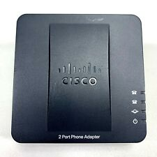 Cisco SPA112 2-Port VOIP Phone Adapter Replacement *NO POWER ADAPTER - GOOD Cond