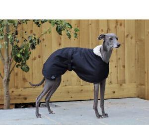 The Trendy Whippet Black Waterproof Fleece Jacket Coat - size small S