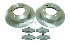 SSANGYONG MUSSO KORANDO 1994-2001 REAR 2 BRAKE DISCS AND PADS SET NEW