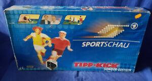 MIEG Tipp Kick Sportschau Sonder-Edition mit Bande Fußball Soccer - vollständig