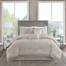 Madison Park Emory 7-Piece Reversible King Comforter Set in Rose Gold