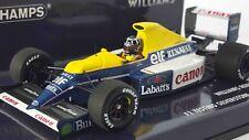 Minichamps 437910000 1/43 WILLIAMS FW13B 1991 DAMON HILL F1 TEST SILVERSTONE