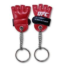 UFC Officially Licensed Keychain W/Mini Red Fight Glove New/Sealed in Clamshell