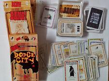 Bang! + expansiones Dodge City y A fistful of cards - juego de cartas oeste