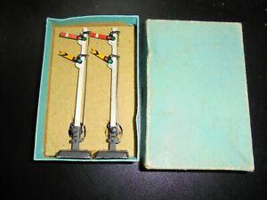 HORNBY DUBLO SIGNALS D2 SIGNALS - DOUBLE ARM (UPPER QUADRANT) RARE BOX