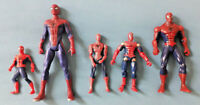 """Marvel Universe SPIDERMAN LOT Spider-man 4"""" Inch Action Figure Lot Toy"""