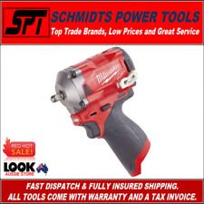 "MILWAUKEE M12FIW38-0 M12 12V GEN2 FUEL STUBBY IMPACT WRENCH 3/8"" DRIVE AUS STOCK"