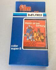 VINTAGE 70s# SUPER 8mm Cartoon Walt Disney Match of the Century Rare #NIB