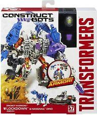 Transformers DINOBOTS Bloqueo & Uñero Dino construir robots construir nuevas