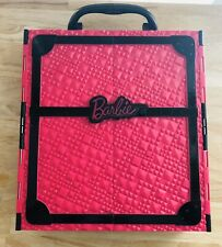 BARBIE DOLL 2011 Pink & Black Wardrobe Carrying Case