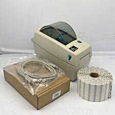 "Zebra LP2824 Thermal Label Printer 2490 Jewelry Tags 2 3/16"" x 1/2"""