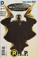 BATMAN INCORPORATED #8 R.I.P. DEATH OF ROBIN FIRST PRINTING