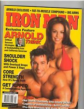 IRONMAN bodybuilding muscle magazine/ARNOLD SCHWARZENEGGER/Sagi Kalev 9-07