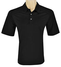 New CLEVELAND Golf Mens (Size- Medium) BLACK CLYDE CG POLO SHIRT FREE SHIPPING!!