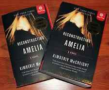 Reconstructing Amelia by Kimberly McCreight SIGNED 1st Ed Rare Limited Edition