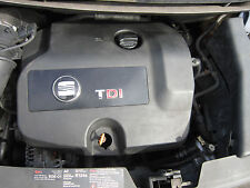 SEAT ALHAMBRA 2004 1.9 TDI 6 SPEED MANUAL ENGINE COVER ONLY