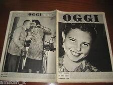 RIVISTA OGGI 1950/51=BERTA HERTOG=LEA PADOVANI=