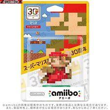 Super Mario Clásico Color amiibo Nintendo 30 Aniversario Wii U Nuevo Y 3ds Japón