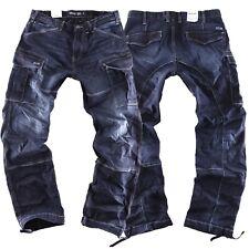 Big Seven Brian slc comfort fit Herren Cargo Jeans Hose Übergröße XXL