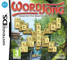 WordJong (Nintendo DS) NDS DS Lite DSi XL Brand New
