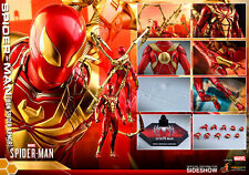 HOT TOYS Spider-Man (Iron Spider Armor) Sixth Scale 1:6 Figure NEW DOUBLEBOX