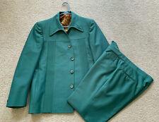 Vintage Men's Green 2-Piece Polyester Leisure Suit, American Craftsmen Phoenix