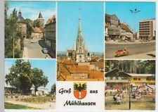 (102029) AK Mühlhausen (Thür.), Mehrbildkarte 1975