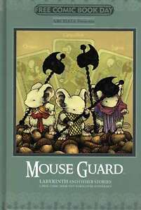 Mouse Guard Labyrinth and Other Stories FCBD HC #20 14 VF/NM; Archaia | we combi