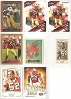 Patrick Willis 49ers 8 card 2009 insert lot-all different