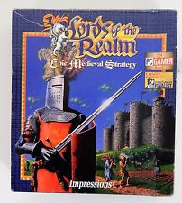 Lords of the Realm Epic Medieval Strategy by Impressions