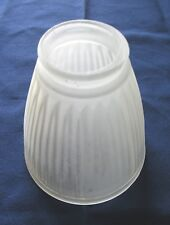 Ceiling Fan Light Fixture Lamp Shade Replacement Glass Globe Ribbed Translucent