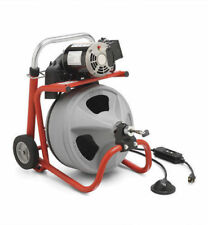 Drain Cleaning Machines & Tools