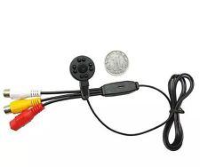 8PCS LED Spy Hidden Covert Mini CCTV Camera 23MM Night Vision 3-5M 600TVLine