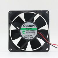 1pc for SUNON KDE1208PTV3 12V 0.1A 1.2W 80*80*25mm cooling fan 2pin/3pin
