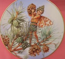 GRESHAM THE PINE TREE FAIRY PLATE CICELY MARY BARKER FLOWER FAIRIES YEAR