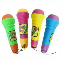 Echo Microphone Mic Voice Changer Kids Party Song Toy Xmas Gift Birthday Ho G6Y2