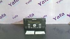 1Y70046 Ford Focus II 1.6 TDCI 6000 CD Radio + Radio CODE 3089  5M5T18C815 FA