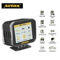 AUTOOL OBD2 HUD Overspeed Alarm Speedometer Code Reader Freeze Frame O2 Sensor