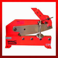 "WNS Metal Lever Cropper Cutter Shear Guillotine 300mm 12"" Blade Steel Flat Round"