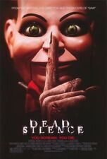 DEAD SILENCE MOVIE POSTER 2 Sided ORIGINAL ROLLED 27x40 DONNIE WAHLBERG