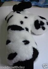 DALMATIAN BLACK & WHITE PUPPY DOG GOLF PLUSH CLUB COVER NOVELTY