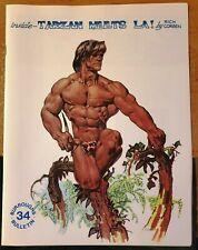 BURROUGHS BULLETIN MAGAZINE FANZINE 34 1974 ERB TARZAN RICHARD CORBEN COVER ART