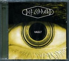 DEF LEPPARD VAULT GREATEST HITS 1980 - 1995 + LIMITED EDITION LIVE CD RARE! OOP!