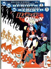 3x)HARLEY QUINN #1(10/16)AMANDA CONNER CVR.(BATMAN/JOKER/REBIRTH)CGC IT(9.8)HOT!
