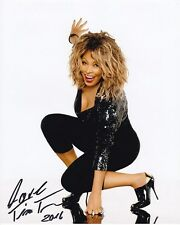 TINA TURNER Signed Autographed Photo