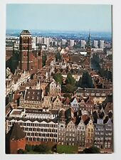LOT Polish Airlines postcard, The Old Town in Gdańsk
