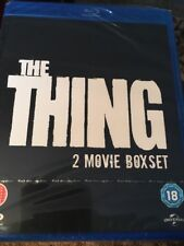 The Thing (Blu Ray 2 Movie Box Set Region Free) Factory Sealed